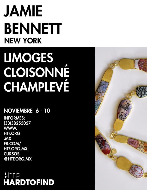 JAMIE BENNETTE // ENAMELING – CLOISONNÉ – CHAMPLEVÉ