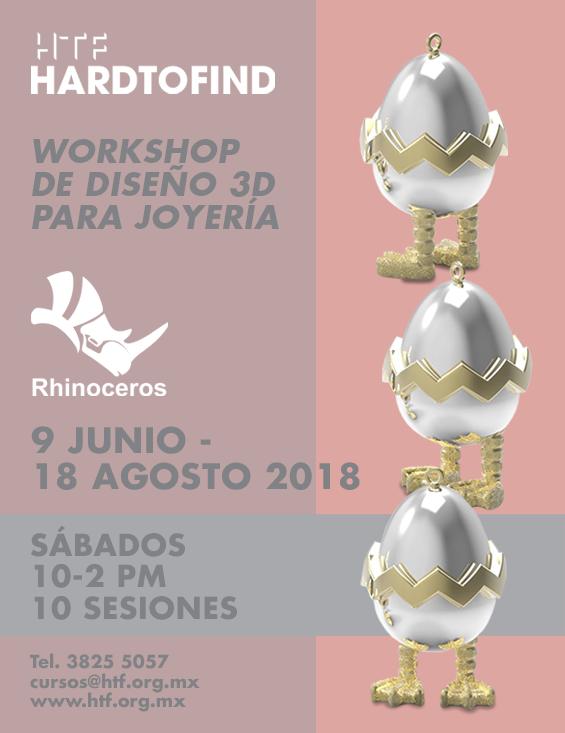RHINOCEROS //  DISEÑO 3D PARA JOYERIA