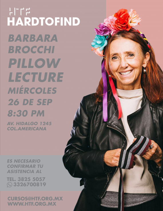 PILLOW LECTURE // BARBARA BROCCHI