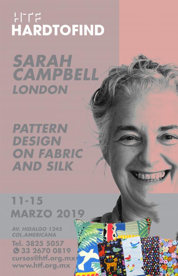 SARAH  CAMPBELL // PATTERN DESIGN // SILK & FABRIC