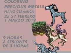 NANO CERÁMICA // COLORING PRECIOUS METALS