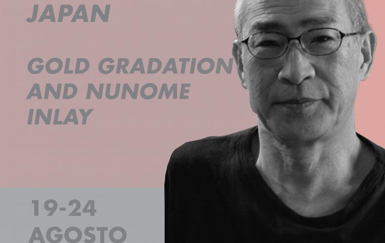 KIMIAKI KAGEYAMA // GOLD GRADATION & NUNOME INLAY