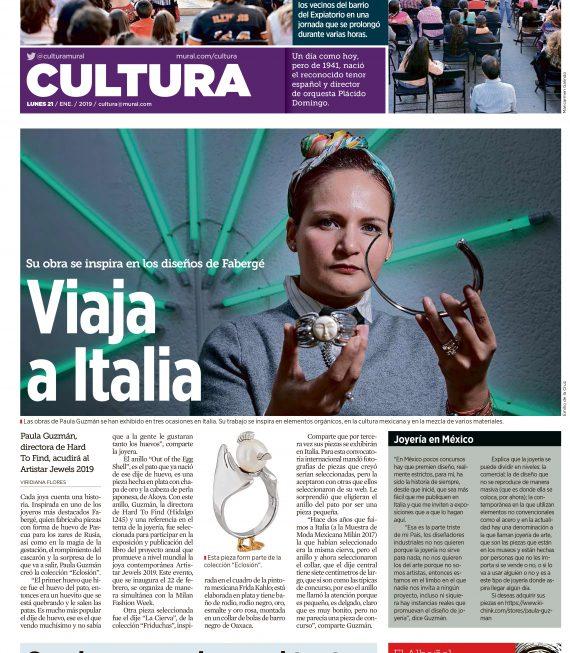ELLA ES NUESTRA REPRESENTANTE EN EL ARTISTAR 2019