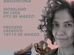 DEBORAH WALL // MODELADO EN CERA // PROCESO CREATIVO