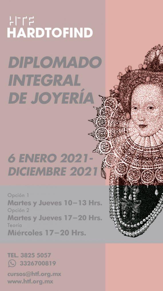 DIPLOMADO INTEGRAL DE JOYERIA // ENERO 6 2021