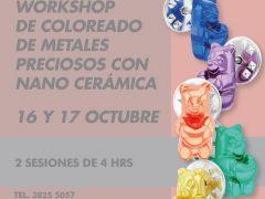 COLOREADO DE METALES PRECIOSOS // NANO CERÁMICA