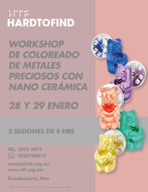 NANO CERÁMICA // COLOREADO DE METALES PRECIOSOS