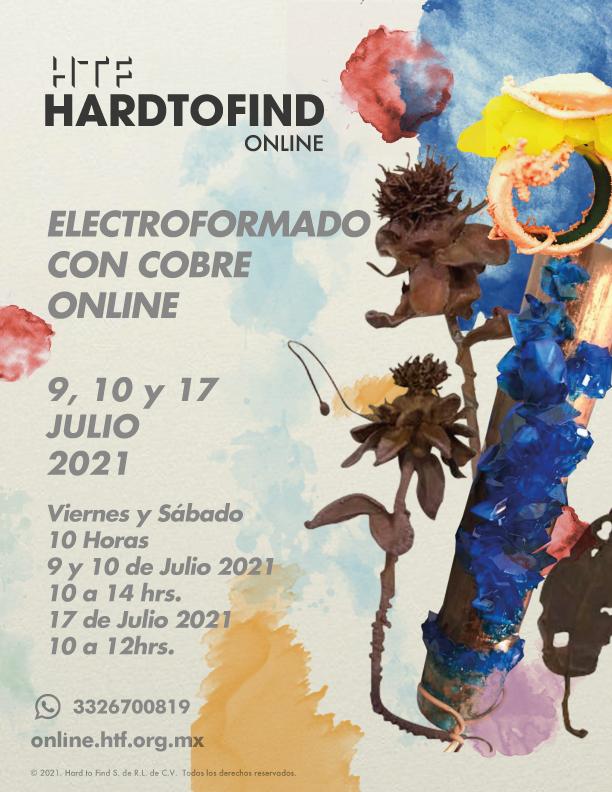 ELECTROFORMADO CON COBRE // ONLINE