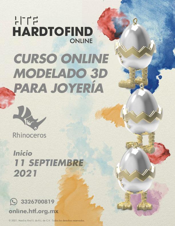 MODELADO 3D PARA JOYERÍA // ONLINE